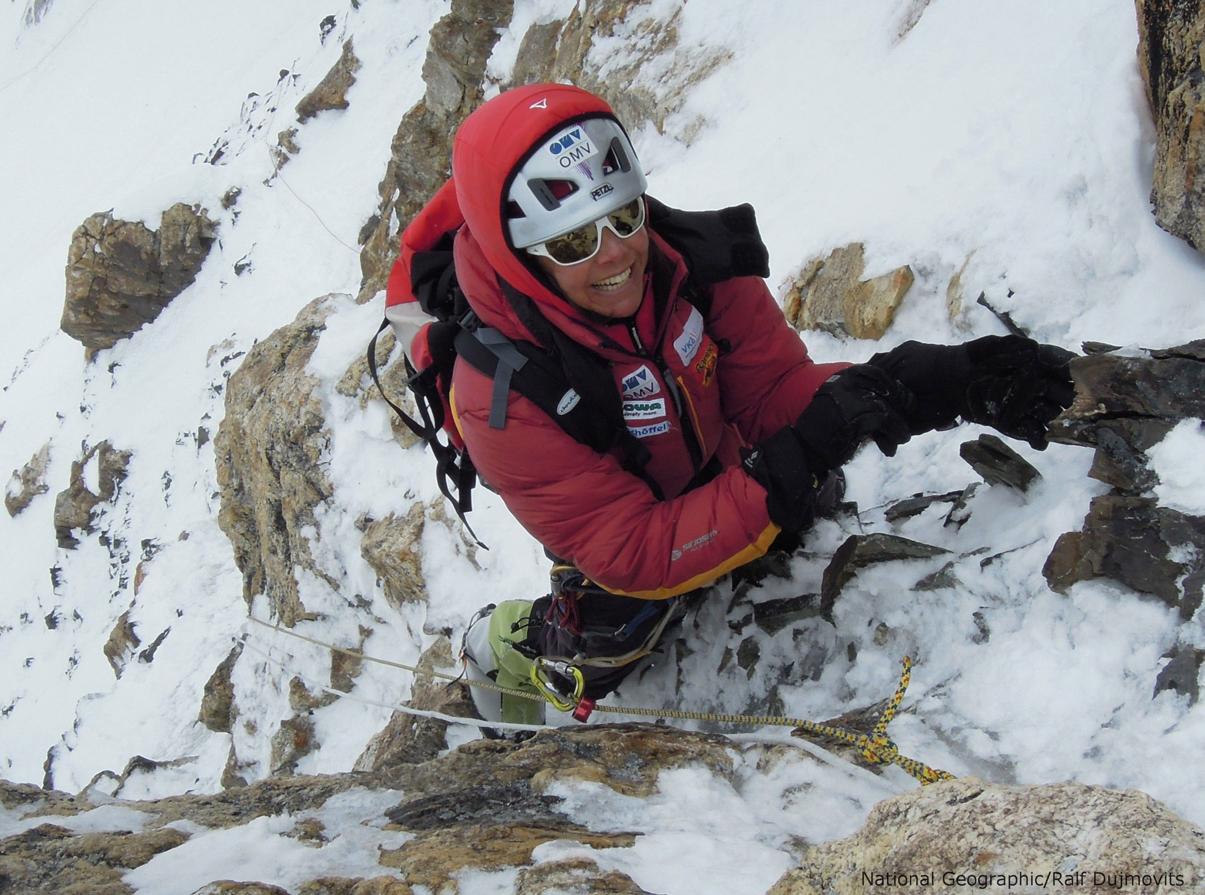 First woman to summit all 14 major peaks