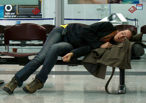 How to spend a night at the airport?!
