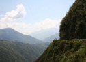Mountain Biking the Death Road, Bolivia
