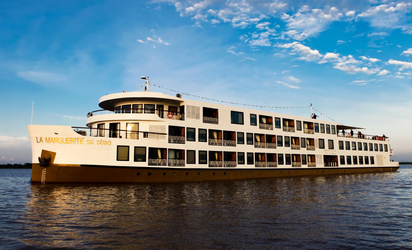 Experiencing A River Cruise Through The Mekong In Southeast Asia