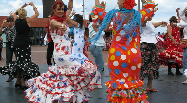 Flamenco and Sevillana in Seville&#8217;s April Fair
