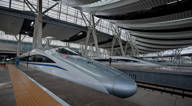 To Beijing on the Bullet Train