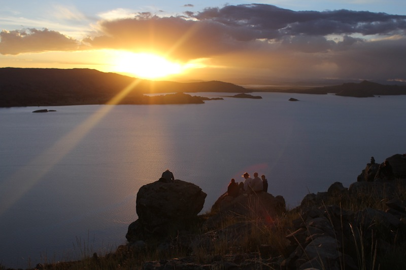 Lake Titicaca – On Taquile Island with the sons of Moon and Sun