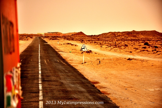 No Man's Land – Trucking between Morocco and Mauritania