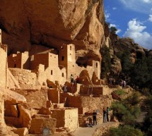 The Cliff-Dwellings of Mesa Verde in Colorado